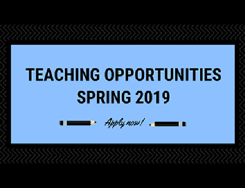 ReadyAI Teaching Opportunities in Spring 2019