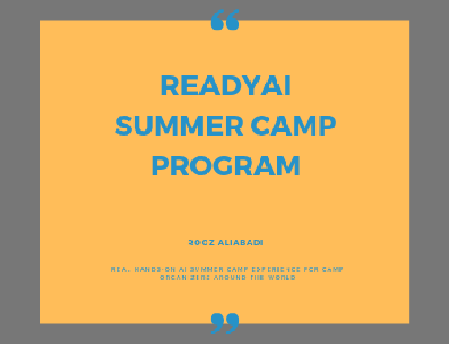 ReadyAI Launches First Real Hands-on AI Summer Camp Experience